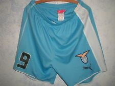 LAZIO-OFFICIAL MATCH WORN SHORTS-PANTALONCINI INDOSSATI-PAOLO DI CANIO