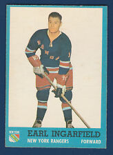 EARL INGARFIELD  62-63 TOPPS 1962-63 NO 51 EXMINT+