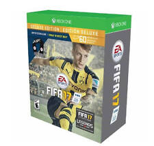 New! FIFA 17 Deluxe Edition Scarf Bundle - Xbox One - New Open Box