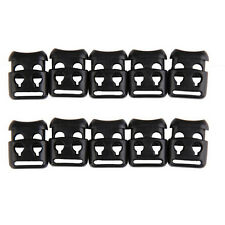 Hunting Stopper Rope Clip Clamp Cord Lock Shoelace Buckle Non-slip 10 PCS LY89