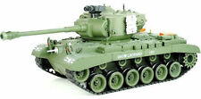 Pershing Snow Leopard style Airsoft BB RC Tank With Target Board Xmas Gift