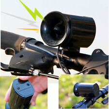 6 Sound MTB Bicycle Bike Bell Alarm Siren Horn Ring Loud Bicycle Accessory Black