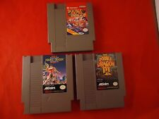 Double Dragon 3 Game Trilogy (Nintendo NES) I II The Revenge III Sacred Stones