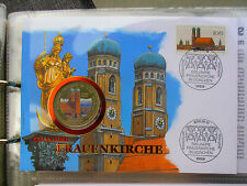 * Numisbrief 1994  mit 1000 Shillings Uganda 1994* Frauenkirche