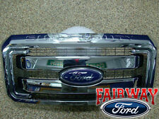 11 thru 16 Super Duty F250 F350 F450 F550 OEM Genuine Ford Chrome Grille Grill
