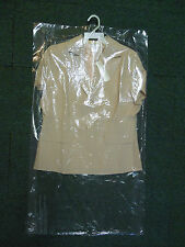 "Lot of 15 DRY CLEANER POLY GARMENT BAGS. 21"" x 4"" x  38"" Brand NEW Plastic bags"