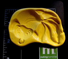 Goldfish Fish-Flexible Push Silicone Mold-Candy Cookie Crafts Cupcake Clay b1