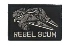 Star Wars REBEL SCUM PATCH ARMY MORALE TACTICAL MORALE BADGE PATCH  hk  612