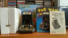 Coleco electronic tabletop mini arcade pac man game,refurbished, with box.