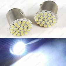 Car Bike Turn Indicator White Bulb 22 SMD LED, Front / Back Indicator, Reverse