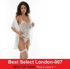 Sexy Women's Underwear Nightwear Sleepwear Lingerie Lace Babydoll UK Seller