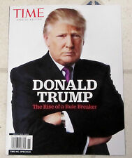 Time Specials DONALD TRUMP Rise Of A Rule Breaker SPECIAL EDITION 96 Pages SAGA