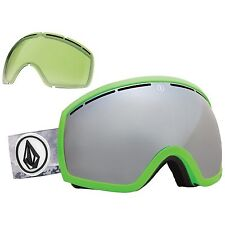 NEW Electric EG2 Volcom Mirror mens ski snowboard goggles + xtra lens Msrp$160
