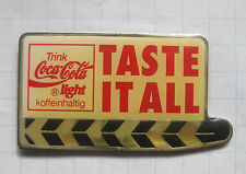COCA-COLA/tasto It All/filmklappde... Pin (212d)