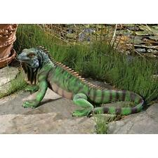 "22"" Iguana LIFE-SIZE Garden Statue Sculpture Reproduction Replica"
