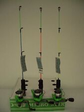 NEW MICRO-STIX ICE FISHING ROD AND REEL COMBO BY LIQUID STIX MODEL MSC1