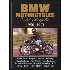 Cartera De Oro motocicletas BMW 1950-1971 libro papel
