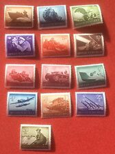 1944 German Empire Heroes Anniversary Set of Stamps MNH