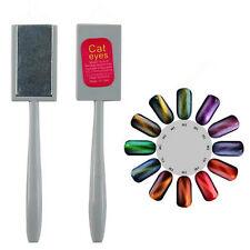 Nail Art Cats Eyes Magnet Pen DIY Magic 3D Magnetic Painting Polish Tool IG