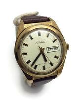 Solid Soviet gold plated AU mechanical men's watch RAKETA 2628.H Rocket calendar