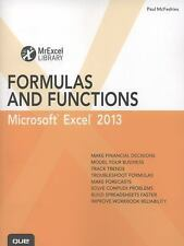 MrExcel Library: Excel 2013 Formulas and Functions by Paul McFedries (2013,...