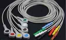 Din ECG EKG 7 Leads AHA Snap Cable Compatible
