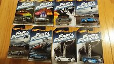 10 complete sets of 8  Hot Wheels Fast and Furious 2017 .... 80 total cars!!