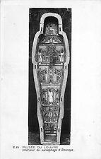 75 PARIS musée du louvre interieur du sarcophage d'amenope