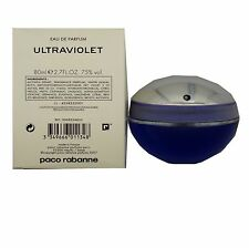 ULTRAVIOLET BY PACO RABANNE EAU DE PARFUM SPRAY 80 ML/2.7 FL.OZ. (T - O/P)