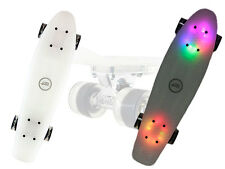 Pennyboard MILK LED Nils Skateboard LED Beleuchtung ALUTRUCKS ABEC 7 Deck