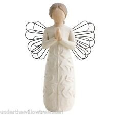 New & Boxed Willow Tree Figurine Angel A Tree a Prayer  #26170 Gift