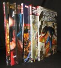 LOT OF 6 CAPTAIN AMERICA HARDCOVER HC BRUBAKER MARVEL NEW MINT FREE SHIPPING