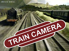 Micro Train Cam - Tiny railroad video camera! Film your model rail layout!