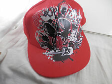 Disney Parks Authentic Graphic Turn Up the Volume Rock out cap hat Adult