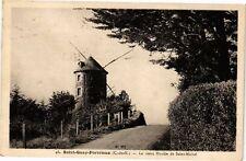 CPA St Quay Portrieux-Le vieux Moulin de Saint Michel (231193)
