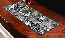 TIGER FACES DESIGN BAR RUNNER IDEAL FOR ANY OCCASION PUBS CLUBS SHOPS L&S PRINTS