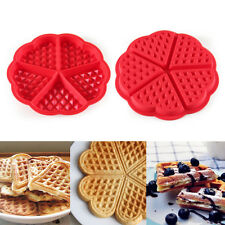 1Pc Silicone Triangle Waffles Cake Mold Chocolate Cookie Barking Pan Mold New