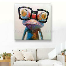 Contemporary art Oil Painting frog on huge canvas NO frame wall decor