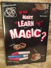 Do You Want To Learn Magic? - DVD - Learn Magic With Common Objects!