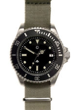 MWC Stainless Steel Military Quartz Divers Watch - 300m / 1000ft Water Resistant