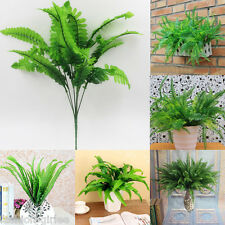 1pc Emulational Home Office Decor Manmade Plastic Green Grass Gracile Leaf Plant