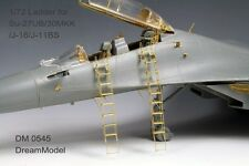 Dream Model 1/72 #0545 Su-27UB/Su-30/Su-30MKK Ladder Etching Parts for Trumpeter