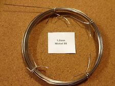 1.2mm x 10m 18 SWG Nickel 55 Wire Tig Weld Cast Iron Repair