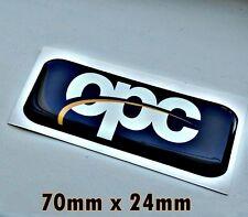 Opel OPC Sport line 3D Aufkleber für Innen oder Opel Astra, GTC, Corsa, Isignia.