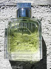 ETERNITY CALVIN KLEIN 3.4 0Z AFTER SHAVE LIQUID GLASS BOTTLE NO BOX NEW