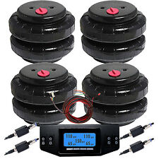 "2500D-I 4 Air Bags1/2""npt Springs w/Digital 12-Position Digital Controller"
