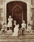 Jeanne Stourton Mrs Sherman Stonor Park With Her 5 Children 1946 Photo Article