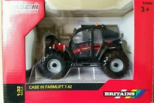 BRITAINS CASE/IH FARMLIFT 742 TELESCOPIC WITH ATTACHMENTS 1/32 SCALE