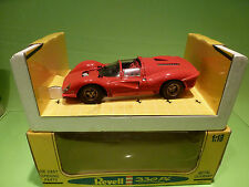 REVELL JOUEF 48822 FERRARI 330 P4 - 1:18 - RED - NEAR MINT IN BOX