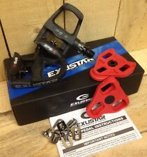 Exustar E-PR100PP Look Keo Road Bike Pedals Black With Cleats UK IBD